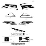 KAWASAKI, KVF300CEF 2014,KVF300CFF 2015,KVF300CGF 2016,KVF300CHF 2017,KVF300CJF 2018, AUFKLEBER(SCHWARZ)