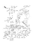 KAWASAKI, ZX636-A1H 2002, RAHMENBEFESTIGUNG