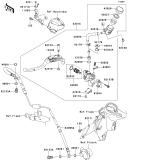 KAWASAKI, ZX1400B6F 2006,ZX1400B7F 2007, KUPPLUNGSHAUPTZYLINDER