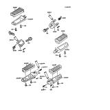 KAWASAKI, ZX550-A1 1984,ZX550-A2 1985,ZX550-A3 1986,ZX550-A4 1987,ZX550-A5 1988, FUSSRASTE