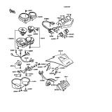 KAWASAKI, ZX550-A1 1984,ZX550-A2 1985,ZX550-A3 1986,ZX550-A4 1987,ZX550-A5 1988, ANZEIGE
