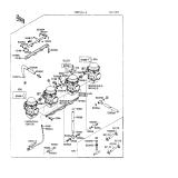 KAWASAKI, ZX600-C1 1988,ZX600-C2 1989,ZX600-C3 1990, VERGASER