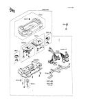 KAWASAKI, ZX600-C1 1988,ZX600-C2 1989,ZX600-C3 1990, ANZEIGE